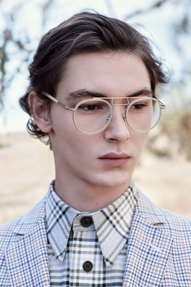 JARED MANHARDT - CK EYEWEAR// PH. WILLY VANDEPERRE ST. OLIVIER RIZZO