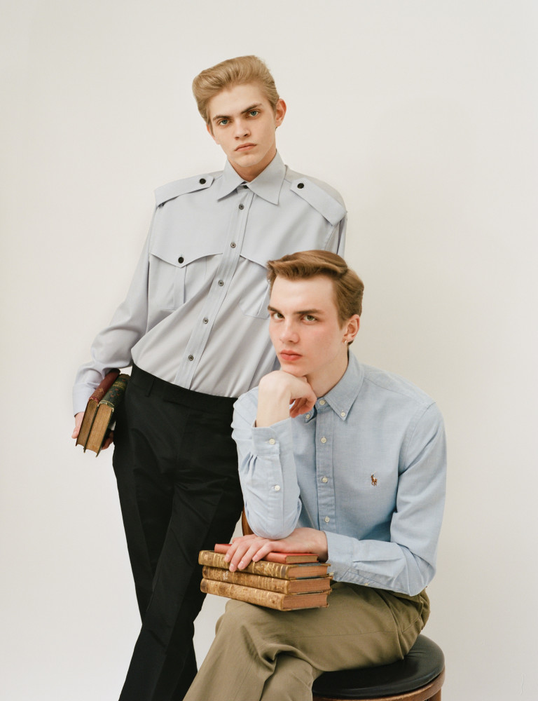 ERNEST KLIMKO & DOMINIC AUGUSTIN : ESQUIRE SINGAPORE // PH. NICK THOMPSON
