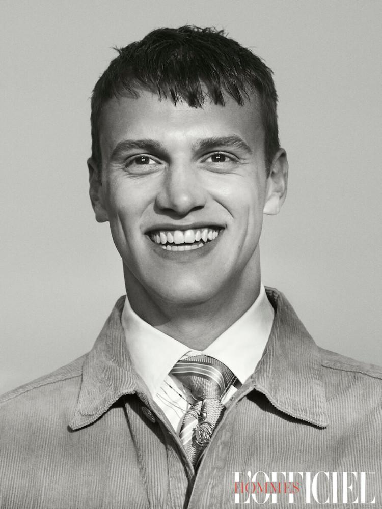 BEN OVERTHROW : L'OFFICIEL HOMMES UKRAINE// PH. TERRY BROADBENT