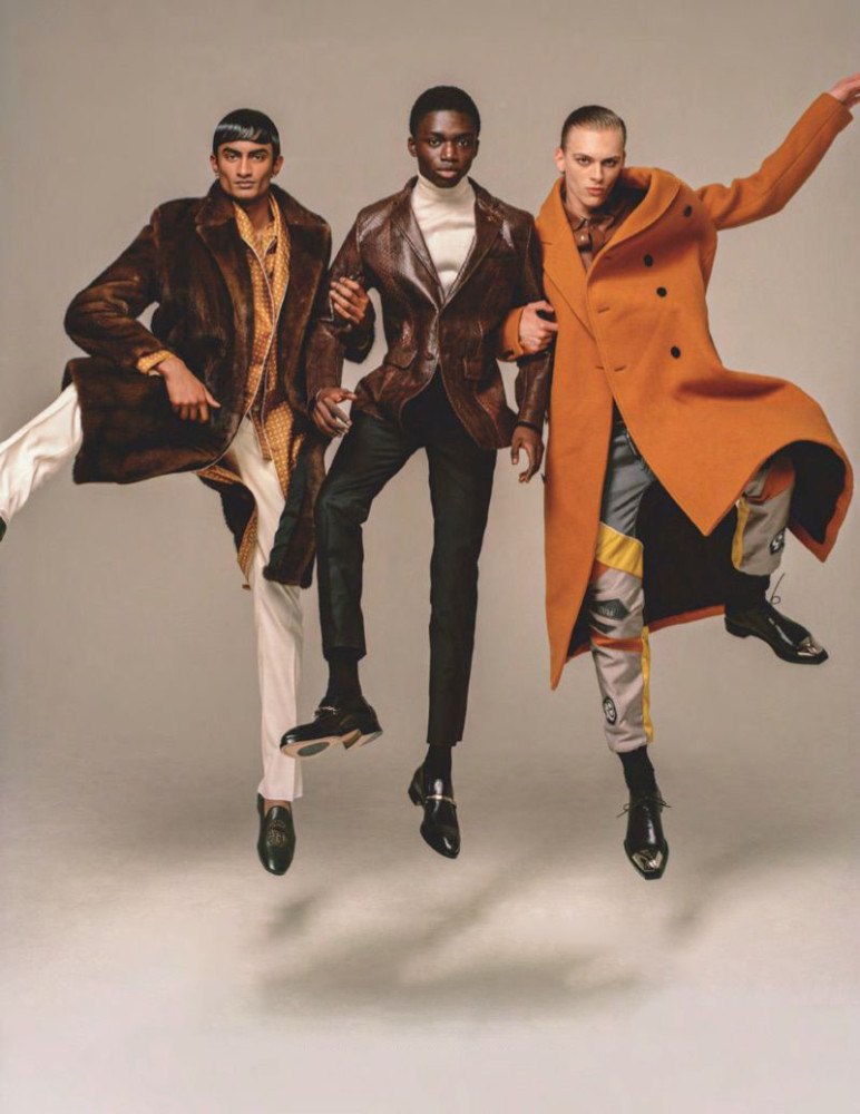 JEREMIAH BERKO FORDJOUR: BRITISH GQ// PH. LOUIE BANKS