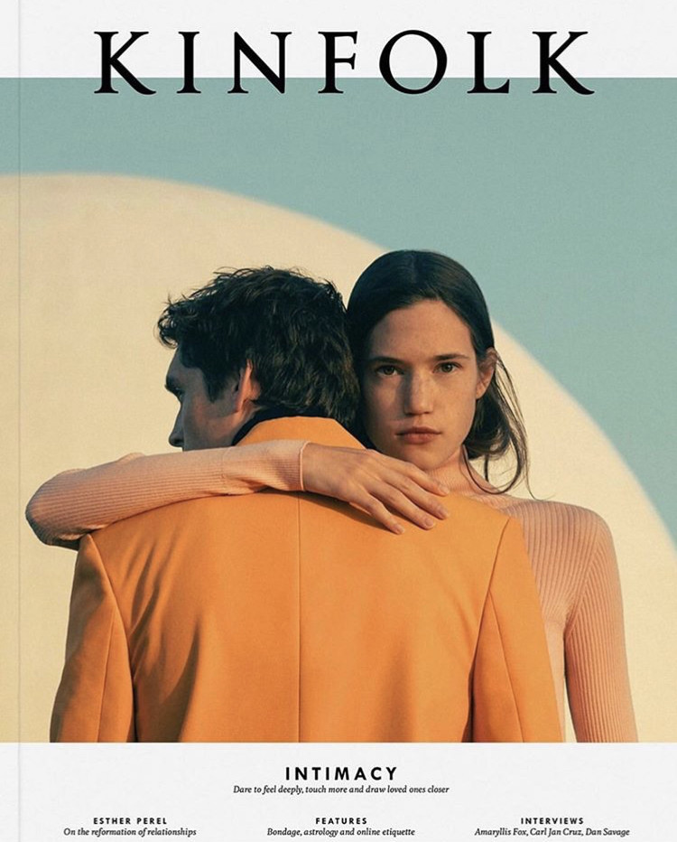 ANDERS HAYWARD: KINFOLK COVER// PH. ROMAIN LAPRADE