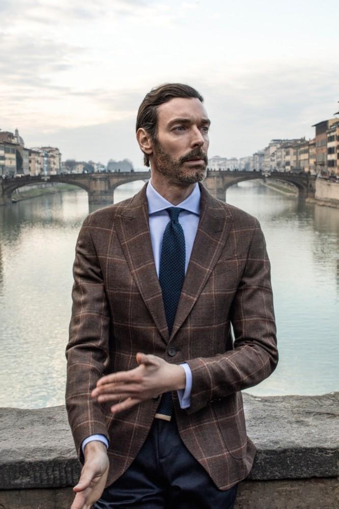 Richard Biedul: PITTI UOMO 2020 - Massimo Dutti