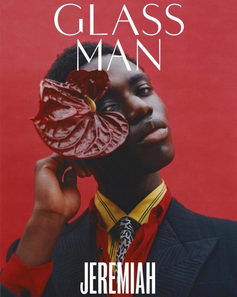 JEREMIAH BERKO FORJOUR: GLASS MAN MAG COVER