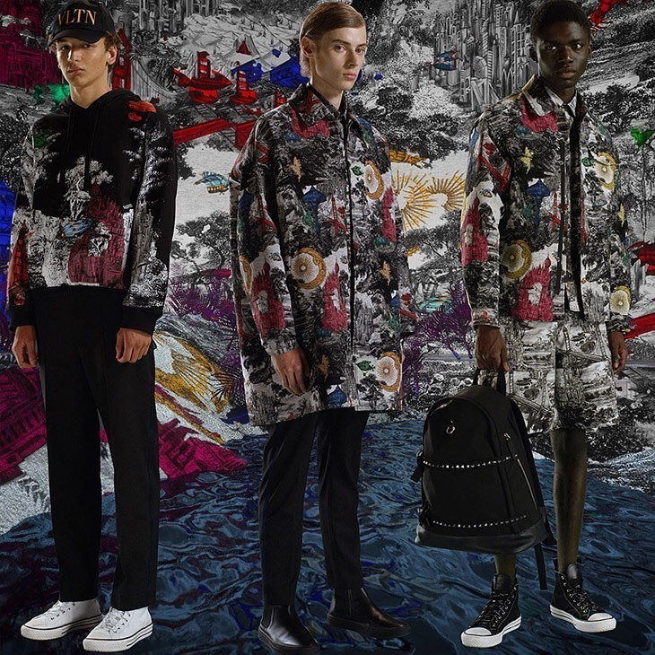 JEREMIAH BERKO FORDJOUR + JETHRO SAPON: VALENTINO PRE - FALL 2020 MEN'S LOOKBOOK
