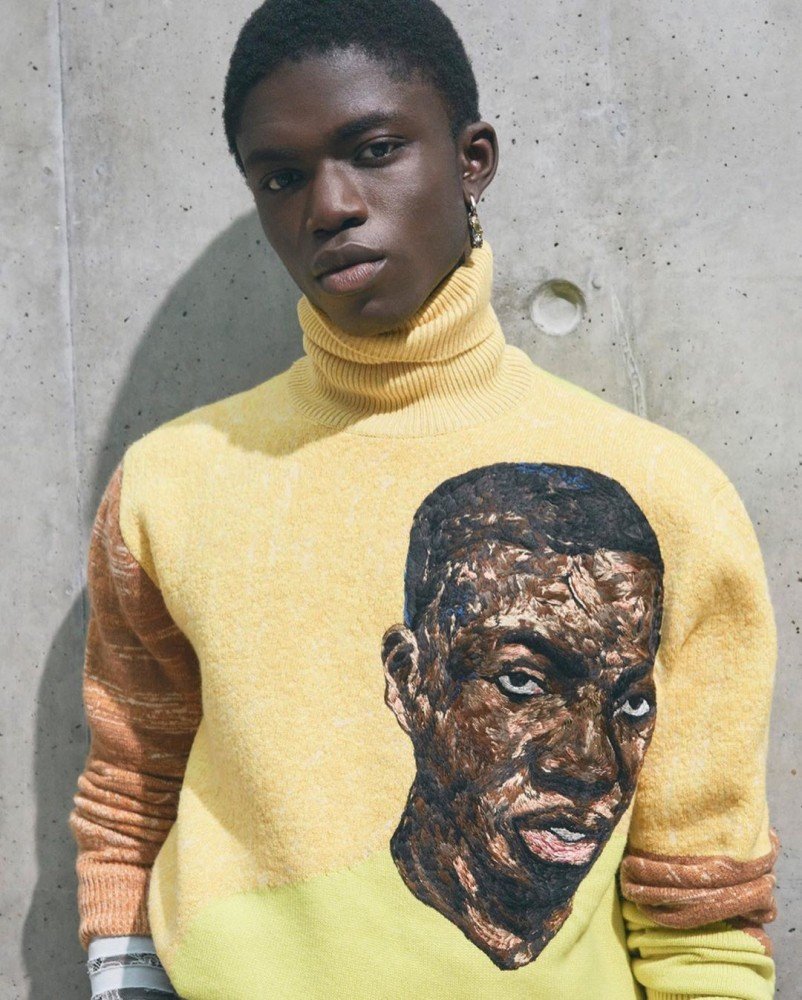 Jeremiah Berko: Dior Summer 2021 Collection with Amoako Boafo