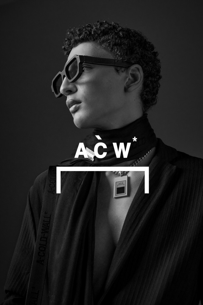 JETHRO SAPON :  A COLD WALL SS21 CAMPAIGN