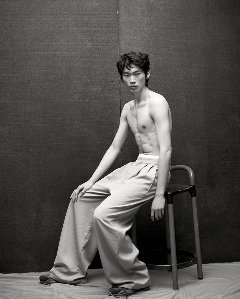 HIDETATSU TAKEUCHI: ANOTHER MAN MAGAZINE 15TH ANNIVERSARY ISSUE