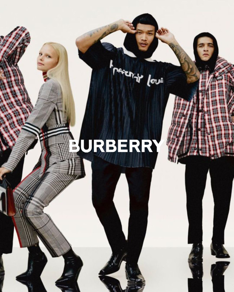 ZAK SRAKAEW: BURBERRY HOLIDAY 2020 CAMPAIGN