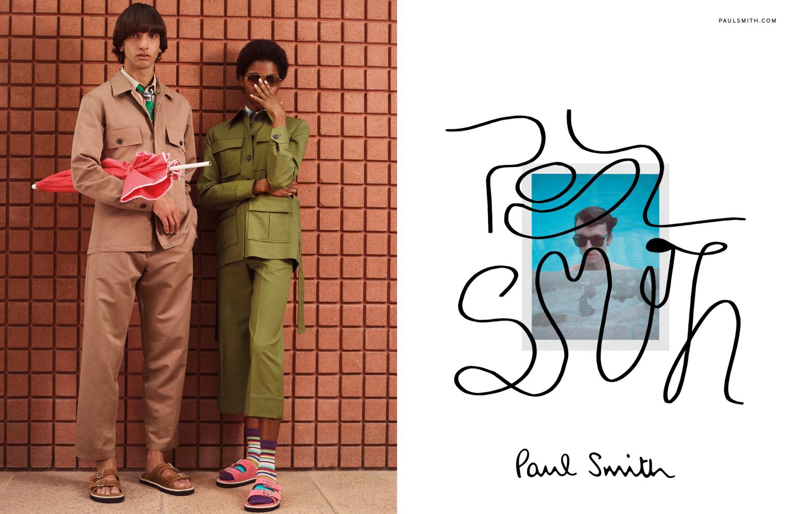 NOAH SAPON: PAUL SMITH SS21 CAMPAIGN