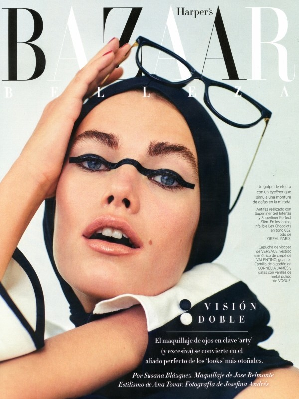 Mathilde + Harpers Bazaar Spain