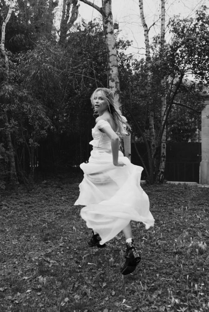 Natasha Poly for Vogue Russia shot by Claudia Knoepfel