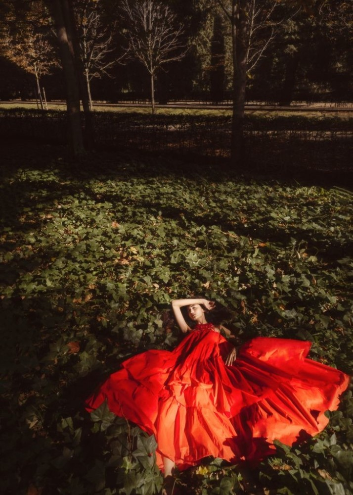 Lorena Cortijo for Elle Mexico shot by Ana Abril