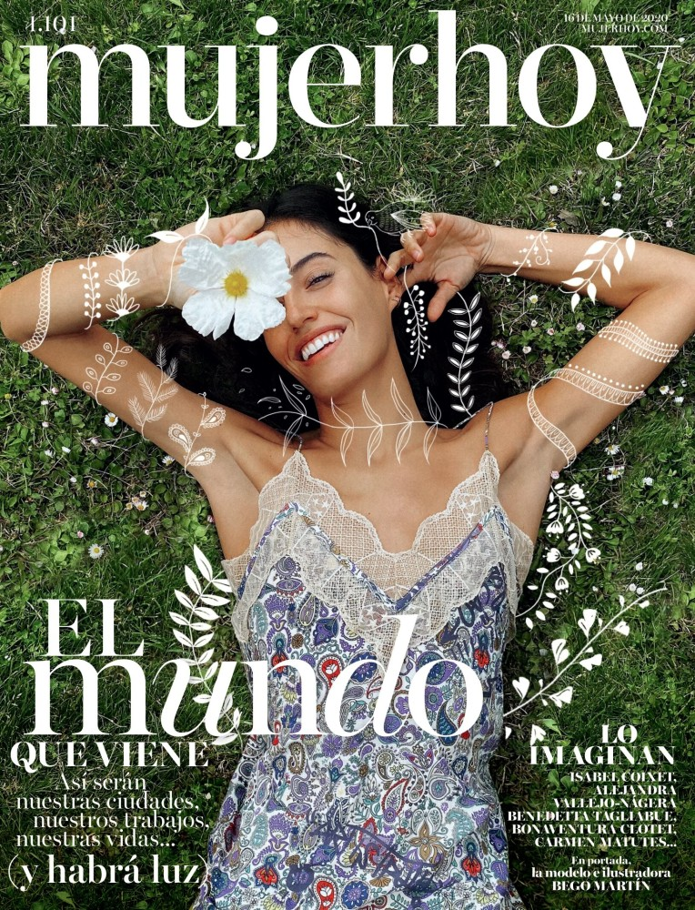 Begoña Martin for Mujer Hoy shot by Cristian Pena