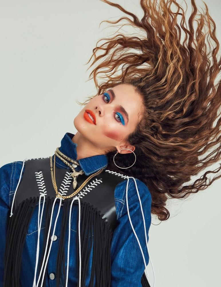 Lucia Davara for Desnudo Magazine Italia shot by Daniel Rull