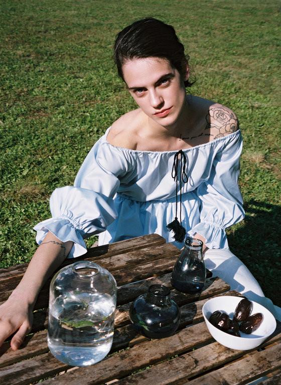 Miriam Sanchez for Uterque SS20 shot by Silvia Ruiz