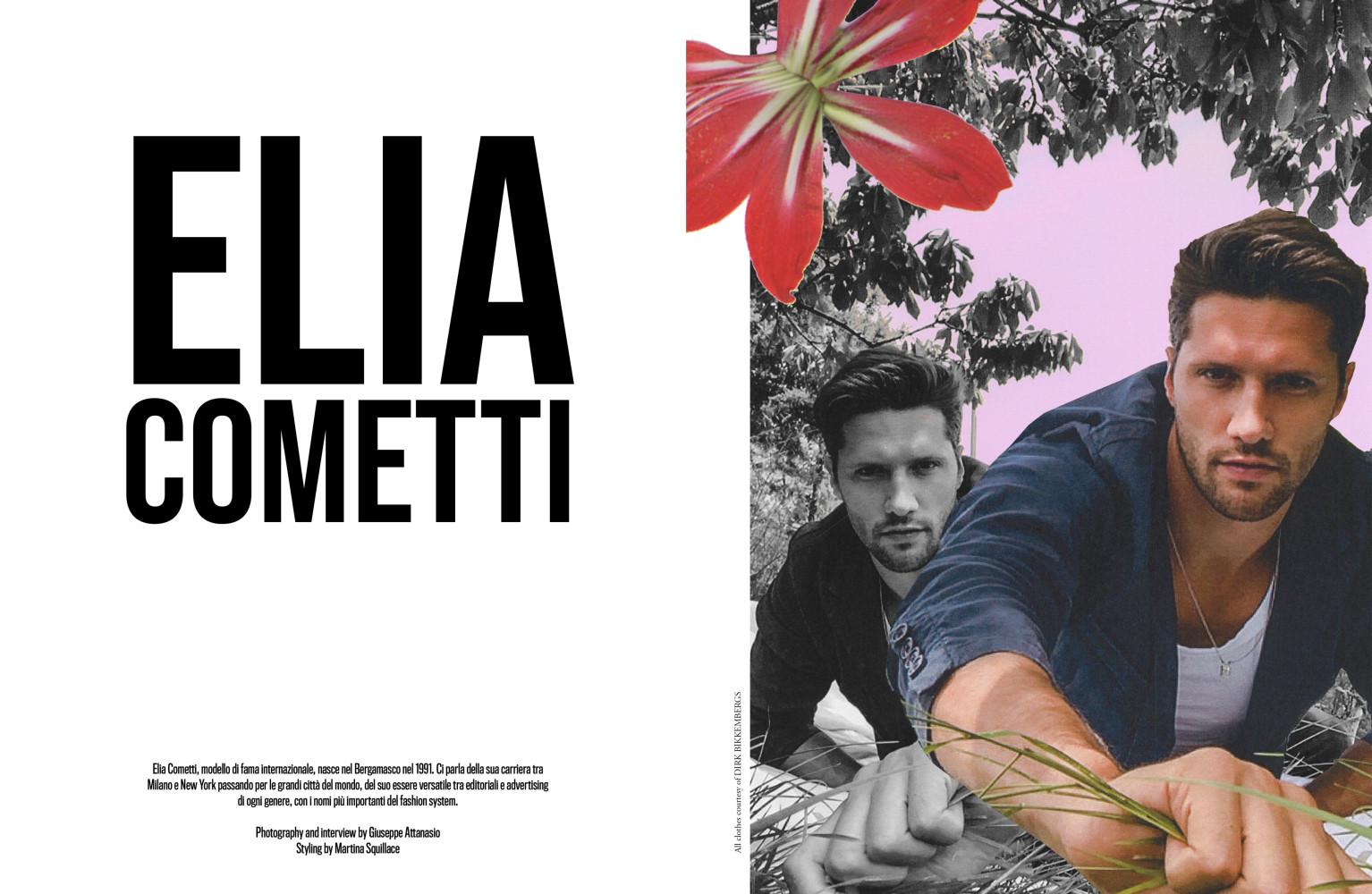 Elia Cometti for Desnudo Italia shot by Giuseppe Attanasio