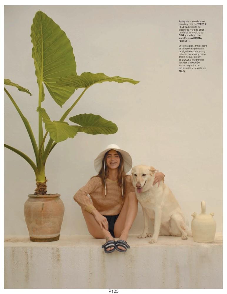 Minerva Portillo for Harper's Bazaar España shot by Alvaro Gracia