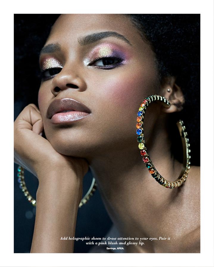 Elen Santiago for Harper's Bazaar Bride shot by Benjamin Becker