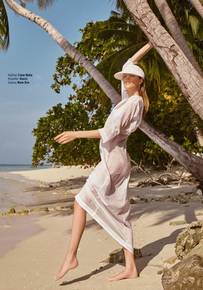 Antonia Wesseloh for Harper's Bazaar Turkey shot by Luis Monteiro