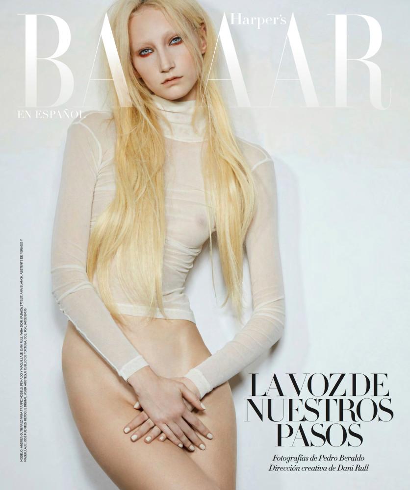 Andrea Gutierrez for Harper's Bazaar Mexico shot by Pedro Beraldo
