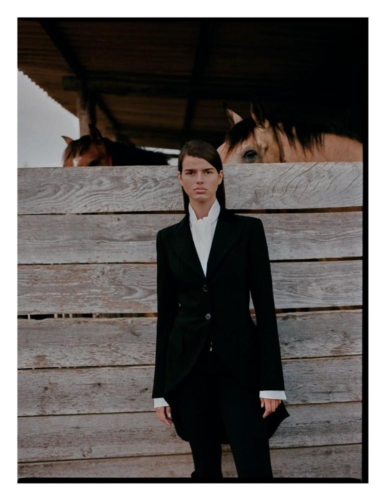 Paula Anguera for Vogue Spain shot by Josep More