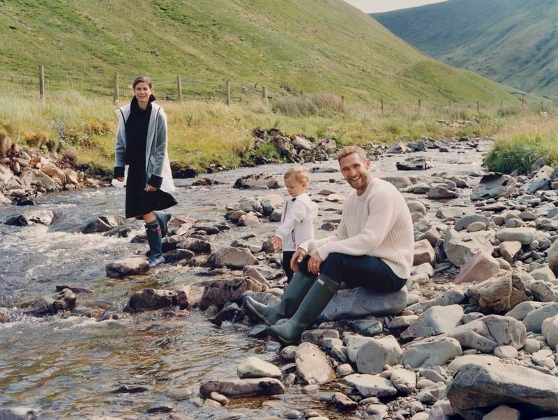 Will Chalker & Family For Hunter Boots Fall '20 Campaign