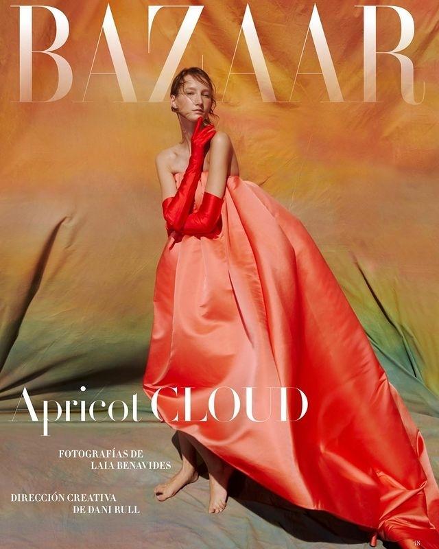 Andrea G for Harper's Bazaar shot by Laia Benavides