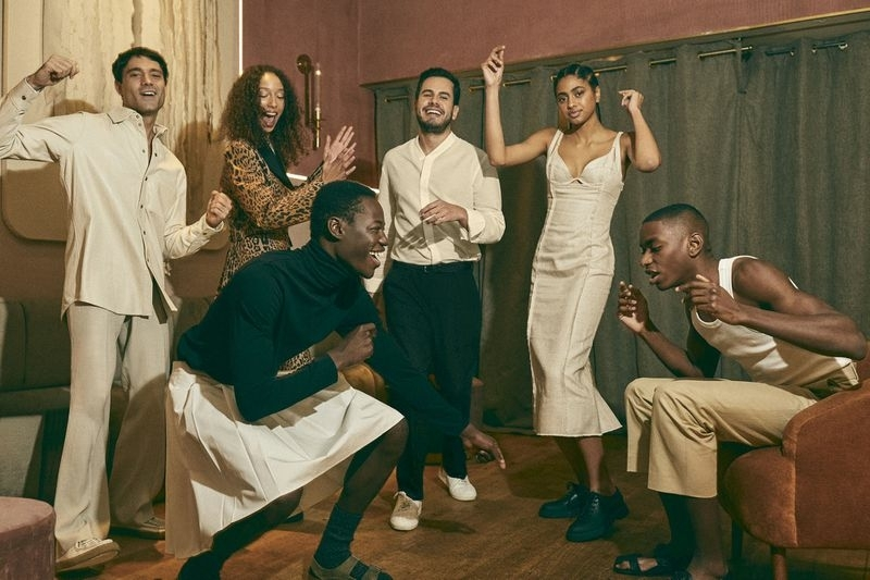 PAPE MOUNDOR & SAVANNAH WESTON 'EAT & DANCE', TAPAS MAGAZINE FEB 2021