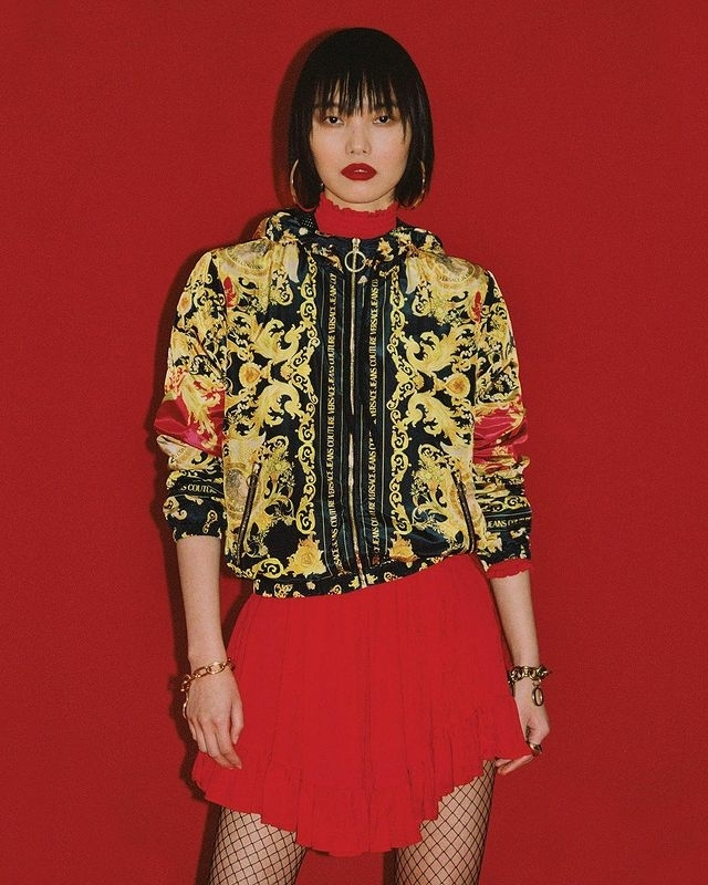 Maggie Cheng for Versace Jeans Lunar New Year 21 Campaign