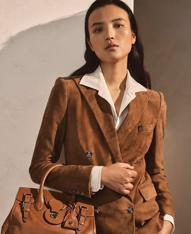 LUPING WANG FOR RALPH LAUREN S/S 21 COLLECTION