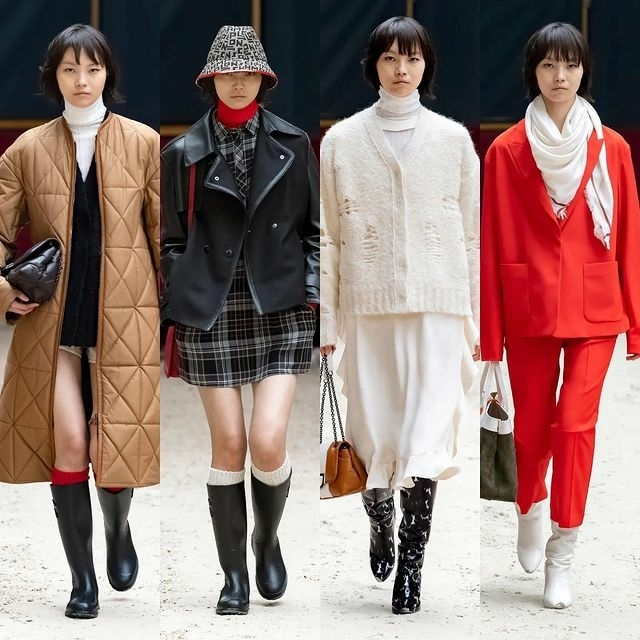 MAGGIE CHENG FOR LONGCHAMP F/W 21 SHOW