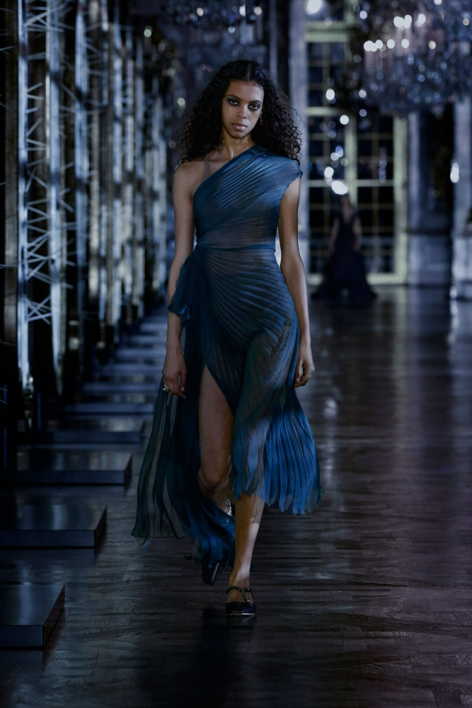 Alyssa Traoré FOR Dior F/W 21 Show