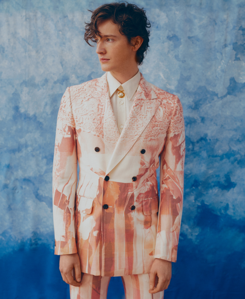 Michael Walker for Blurring Lines GQ Portugal shot by Tobias Delcroix