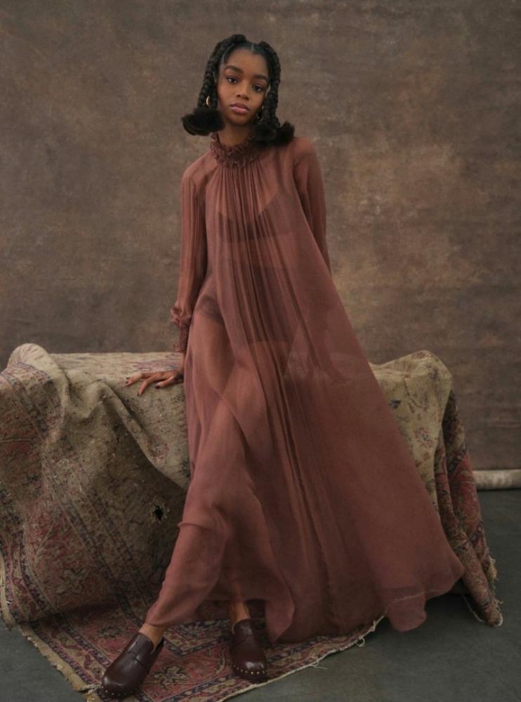Kyla Ramsey for Harper's Bazaar U.S.