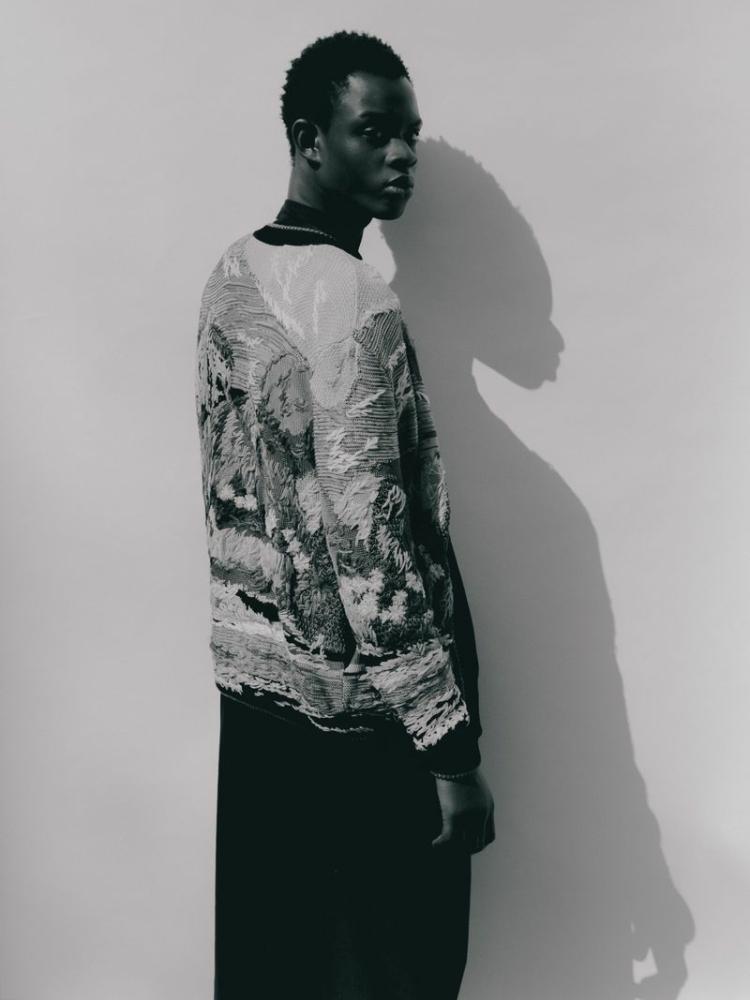 Elhadji Mar for Saint Laurent NR Magazine