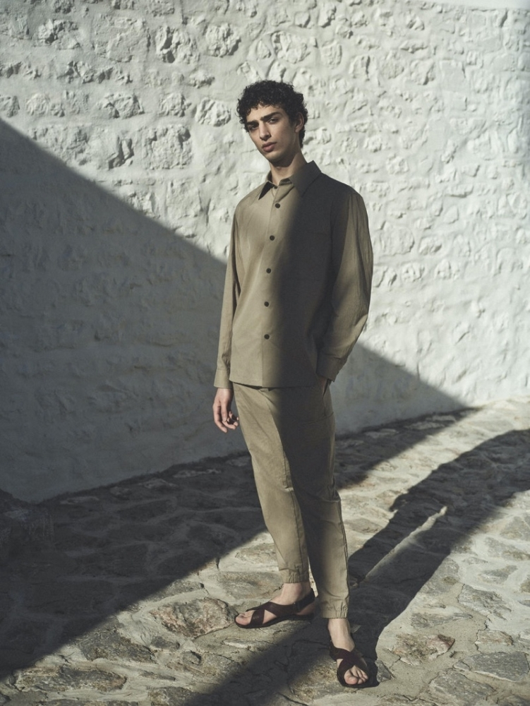 Qaher  for THEORY Spring/Summer 2021 Campaign