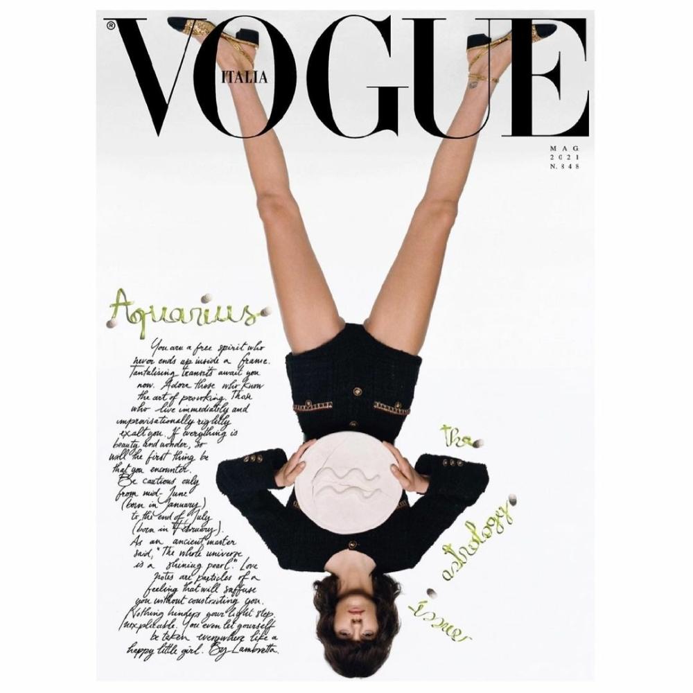 Miriam Sanchez for Vogue Italia