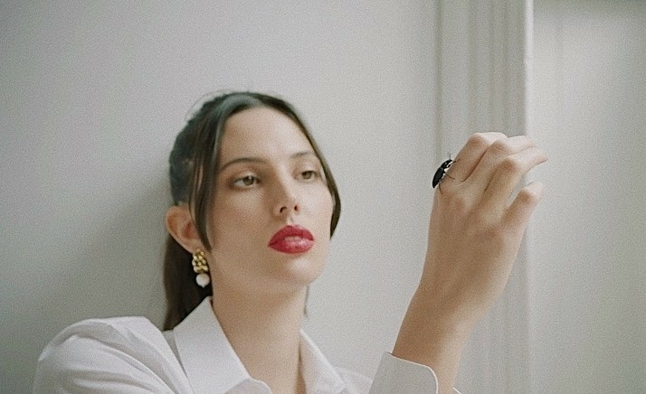 Ruby Aldridge for Hourglass Confession Red 0 Campaign