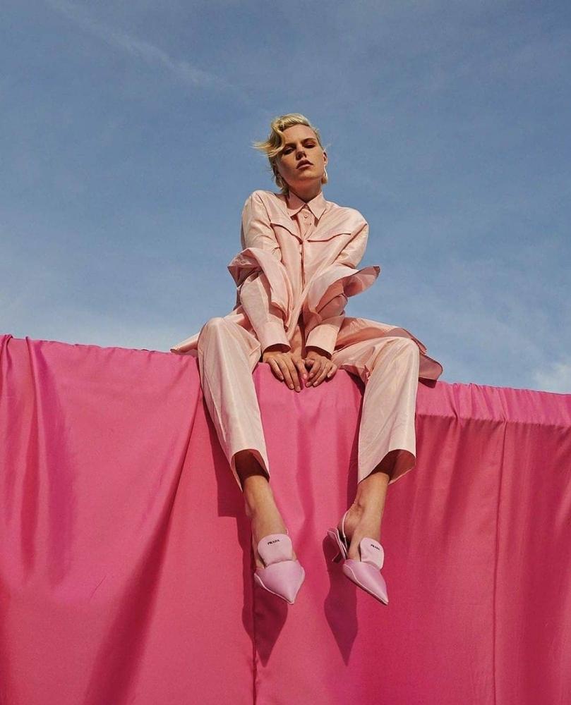 Julia Almendra for Vogue Greece by Panos Davios