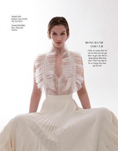 Elena Bartels for Harper's Bazaar Vietnam