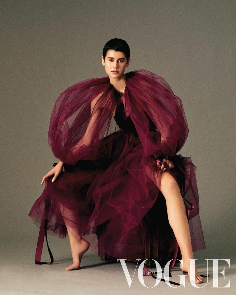 Natalia Viñas for Vogue Spain