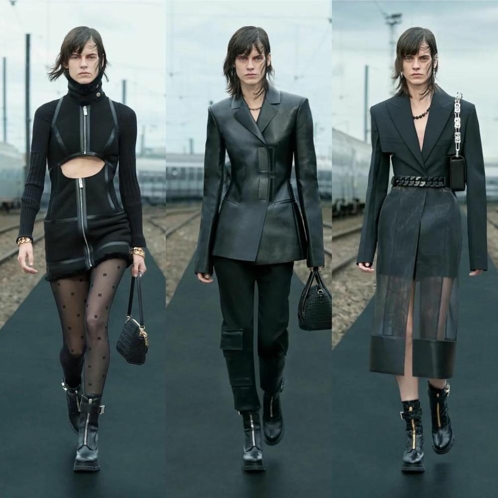 Miriam Sanchez for Givenchy Resort 2022 Digital Show