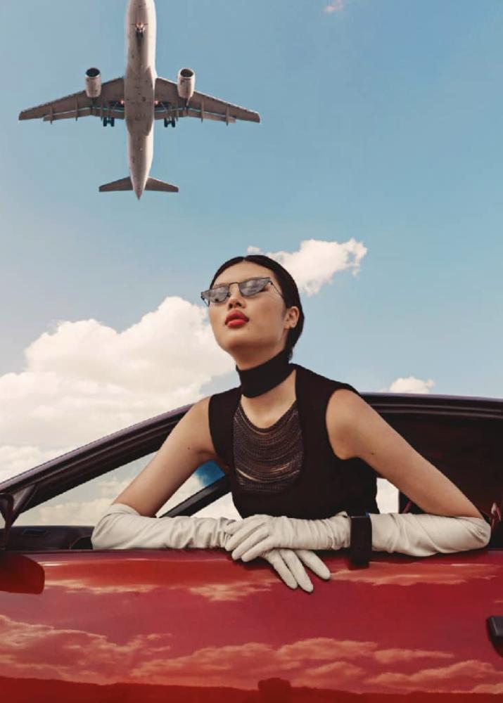 KAYAKO HIGUCHI for Harper's Bazaar Arabia