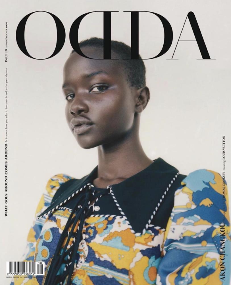 AKON CHANGKOU for ODDA Magazine