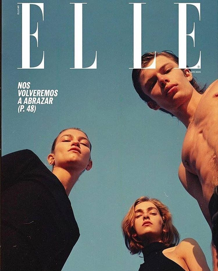 FABIAN GAMBA for ELLE Mexico