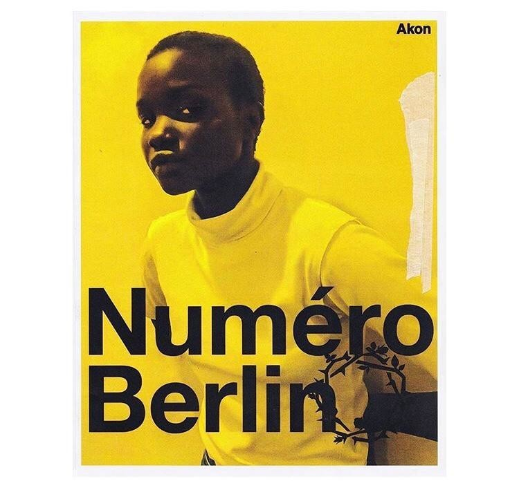 AKON CHANGKOU for NUMÉRO Berlin