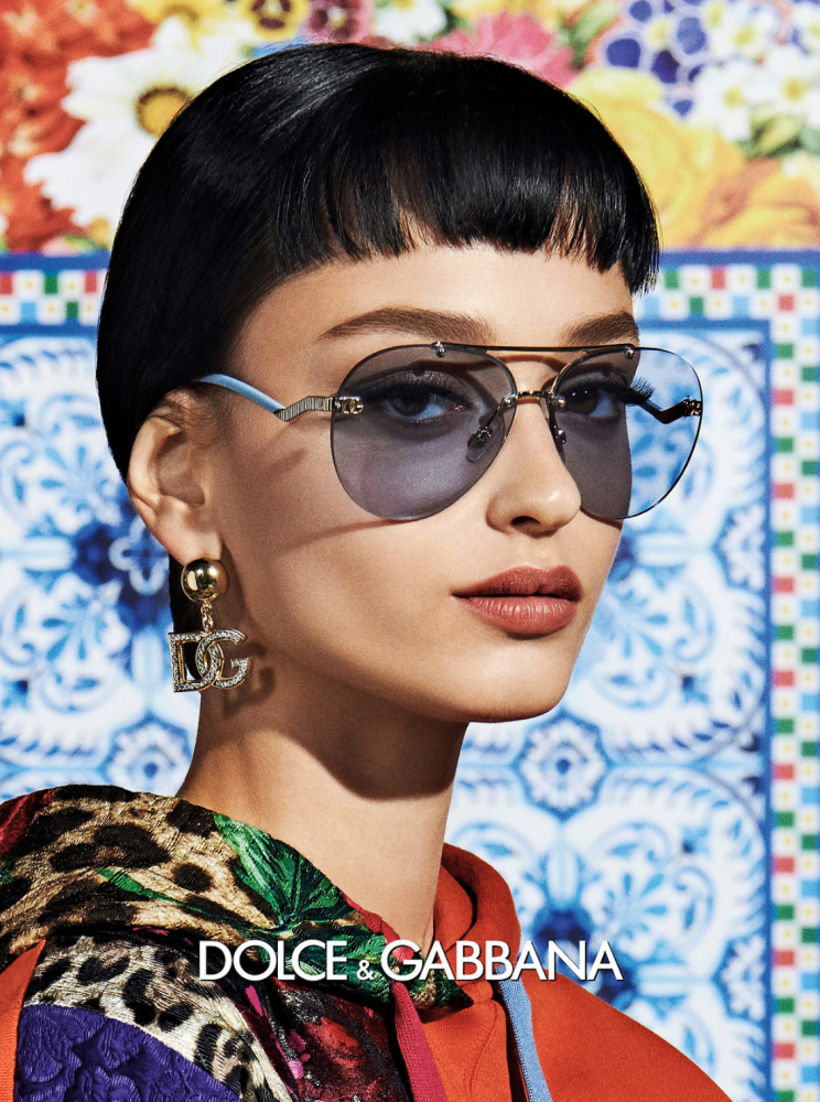 IVANA TRIVIC for Dolce Gabbana S/S 2021 Women's Campaign