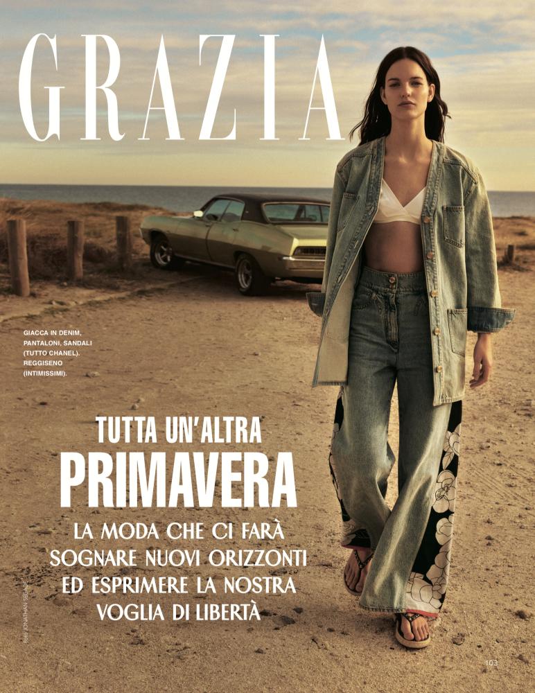 LUCINDA SCHAEFERS for GRAZIA ITALIA