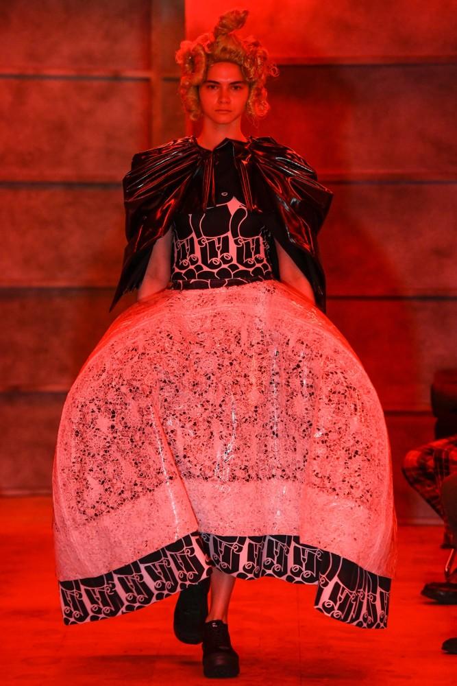 MASHA ALEKSEEVA for Comme des Garçons S/S 21 Show Tokyo