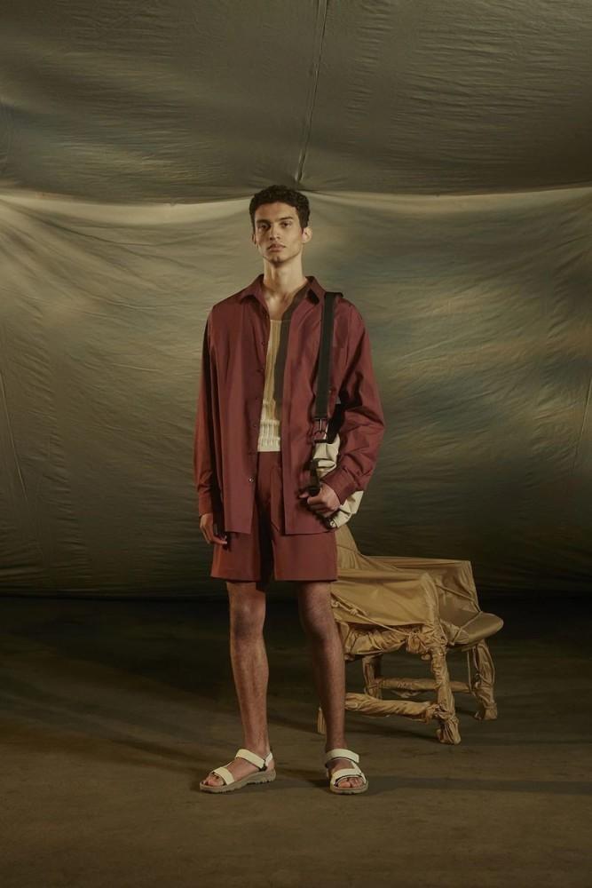 MARCELL NEMBHARD for Qasimi S/S 21 Men's Lookbook
